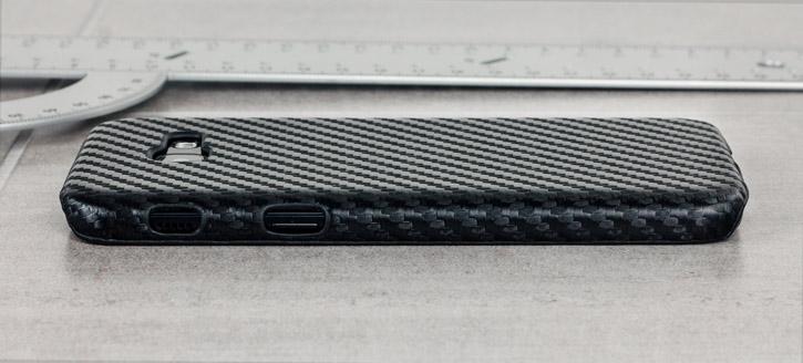 Samsung Galaxy A5 2017 Twill Pattern Case - Black
