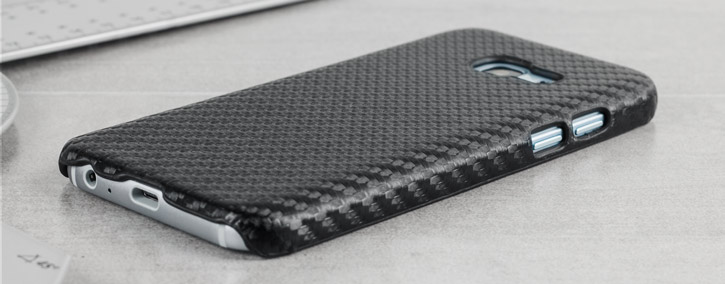 Samsung Galaxy A3 2017 Twill Pattern Case - Black
