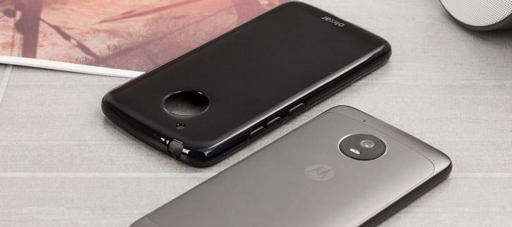 Olixar FlexiShield Motorola Moto G5 Gel Case - Solid Black
