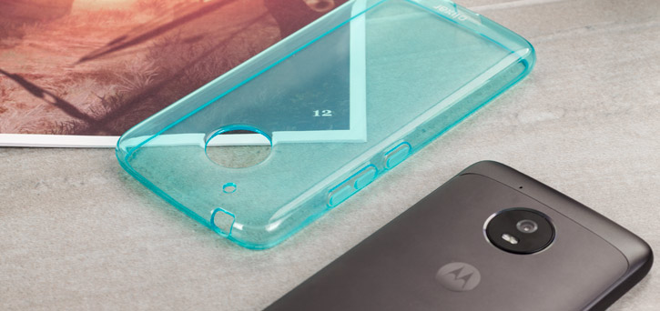 Olixar FlexiShield Motorola Moto G5 Gel Case - Blue