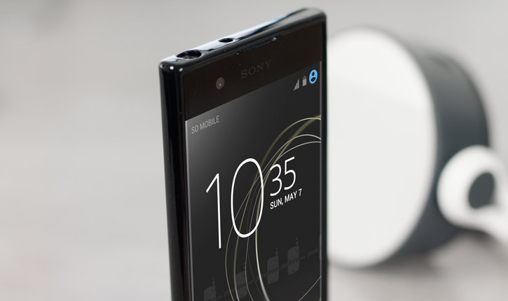 Olixar FlexiShield Sony Xperia XA1 Gel Case - Black