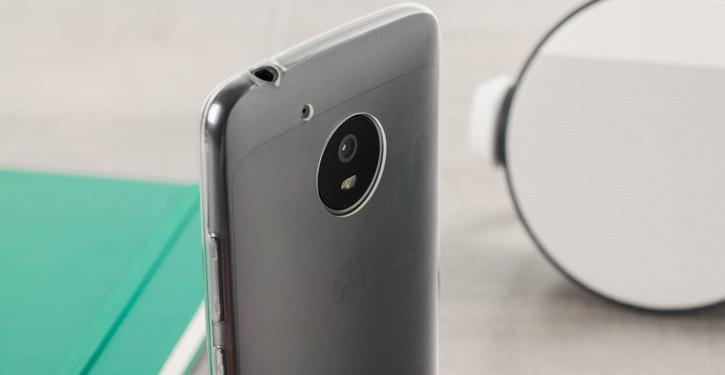 Olixar Ultra-Thin Motorola Moto G5 Gel Case - 100% Clear