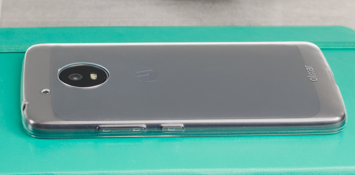 Olixar Ultra-Thin Motorola Moto G5 Plus Gel Case - 100% Clear