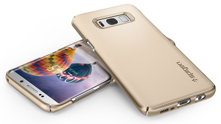Spigen Thin Fit Samsung Galaxy S8 Plus Case - Champagne Gold