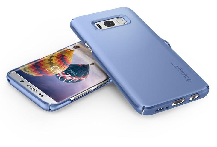 Spigen Thin Fit Samsung Galaxy S8 Plus Case - Blue Coral