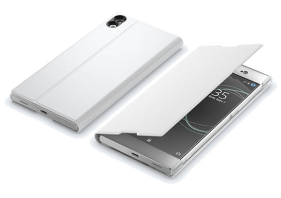 Official Sony Xperia XA1 Ultra Style Cover Stand Case - White