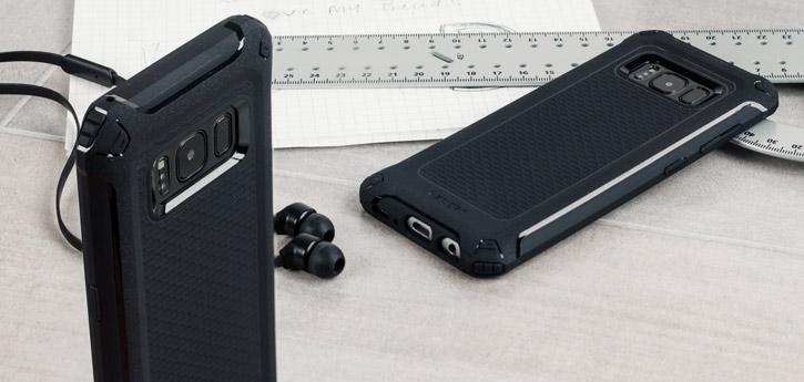 Spigen Rugged Armor Extra Samsung Galaxy S8 Plus Tough Case - Black