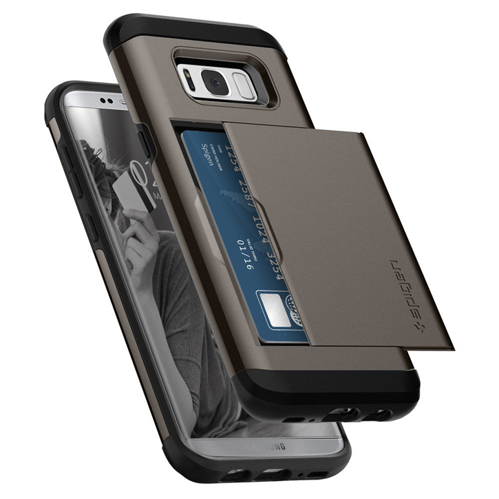 Spigen Slim Armor CS Samsung Galaxy S8 Plus Case - Gunmetal