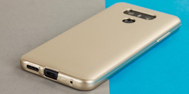 Mercury Goospery iJelly LG G6 Gel Case - Gold