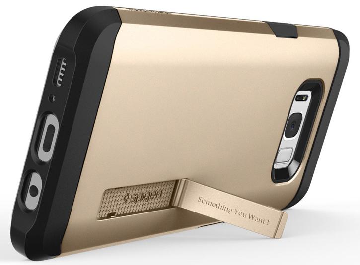 Spigen Tough Armor Samsung Galaxy S8 Plus Case - Champagne Gold