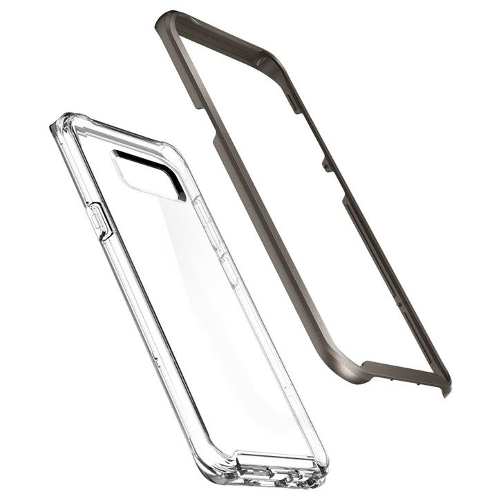 Spigen Neo Hybrid Crystal Samsung Galaxy S8 Plus Case - Gunmetal