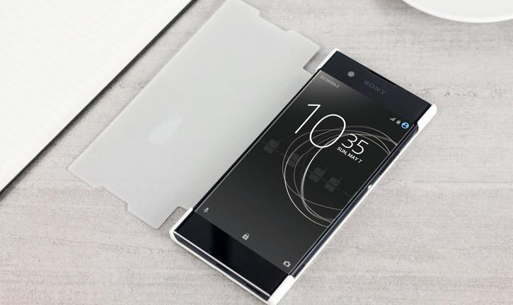 Roxfit Sony Xperia XA1 Pro Touch Book Case - White