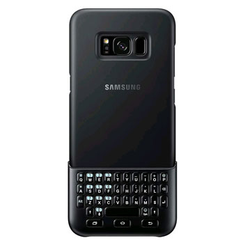 Official Samsung Galaxy S8 Plus Keyboard Cover - Black