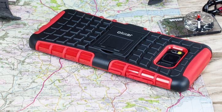 Olixar ArmourDillo Samsung Galaxy S8 Protective Case - Red