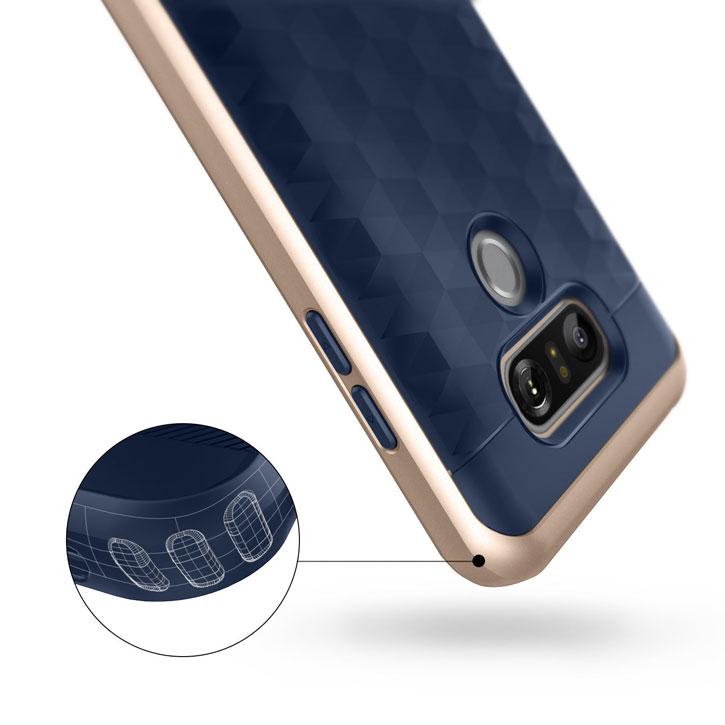 Caseology Parallax Series LG G6 Case - Navy