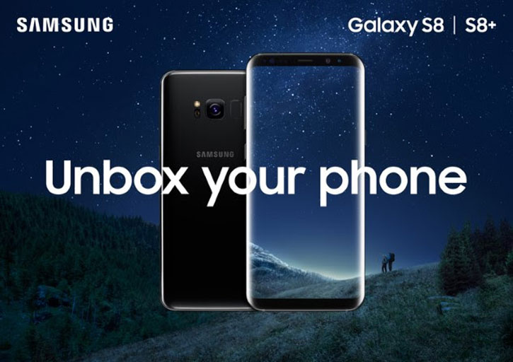 SIM Free Samsung Galaxy S8 Unlocked - 64GB - Black