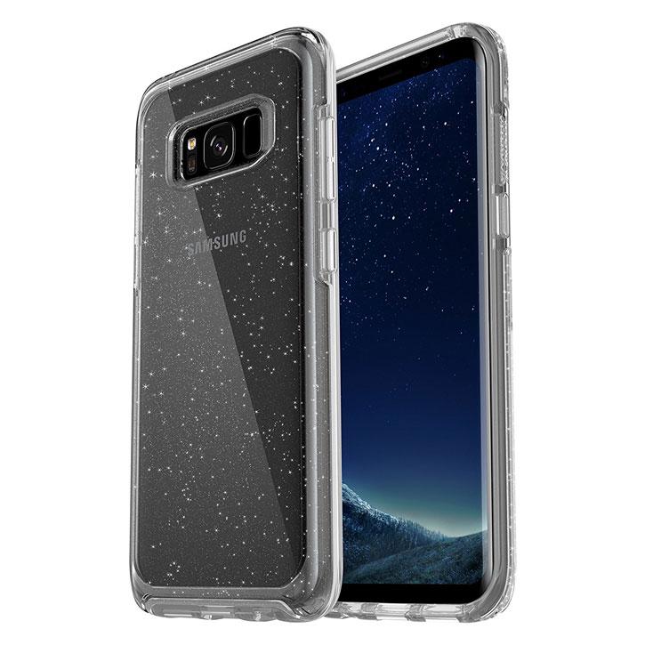 OtterBox Symmetry Clear Samsung Galaxy S8 Plus Case - Stardust