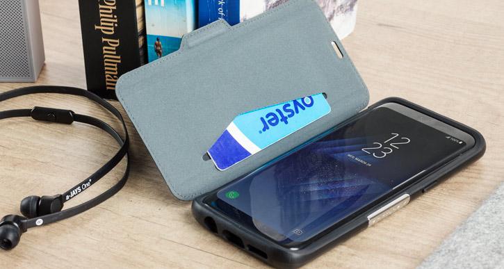 OtterBox Strada Series Samsung Galaxy S8 Ledertasche in Schwarz