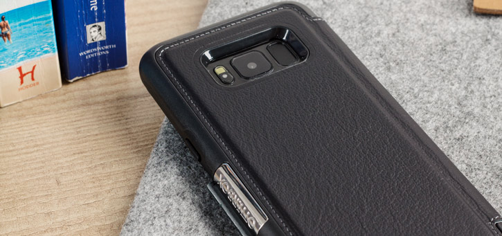OtterBox Strada Samsung Galaxy S8 Plus Case - Black