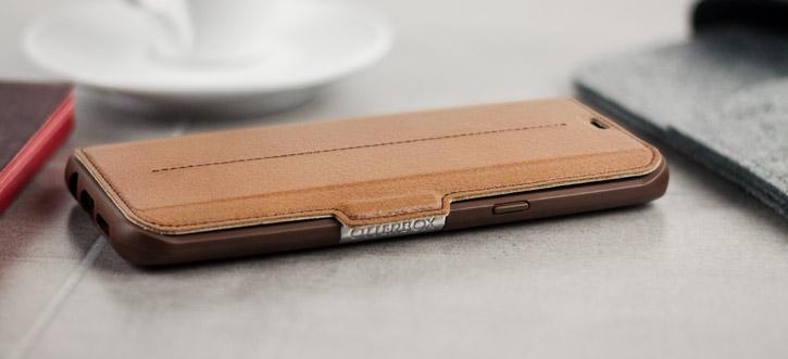 sports shoes 3b62b 8f546 OtterBox Strada Samsung Galaxy S8 Plus Case - Brown