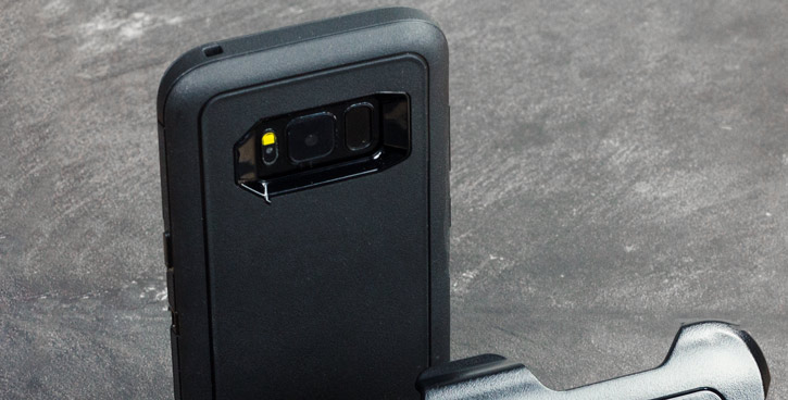 OtterBox Defender Samsung Galaxy S8 Case - Black