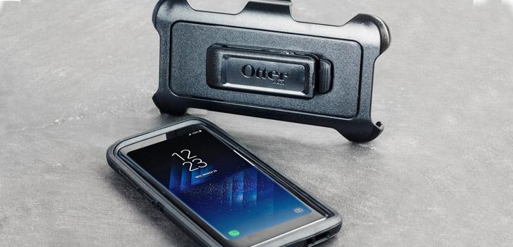 OtterBox Defender Samsung Galaxy S8 Plus Case - Black