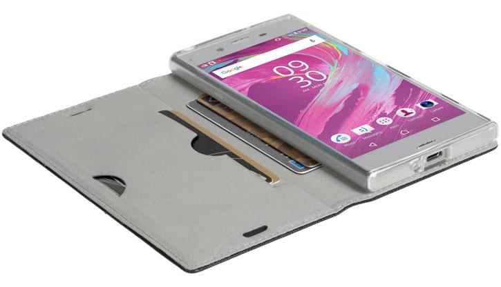 hot sale online 3c1d9 a7274 Krusell Malmo Sony Xperia XA1 Folio Case - Black