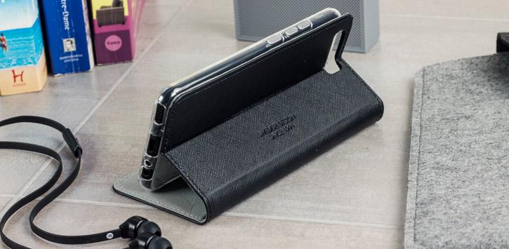 Krusell Malmo Huawei P10 Folio Case - Black