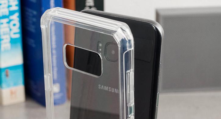 Olixar ExoShield Tough Snap-on Samsung Galaxy S8 Case - Crystal Clear