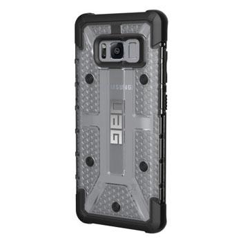 UAG Plasma Samsung Galaxy S8 Protective Case - Ice / Black