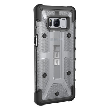 UAG Plasma Samsung Galaxy S8 Plus Protective Case - Ice / Black