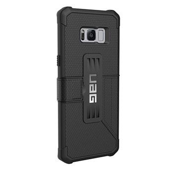 UAG Metropolis Rugged Samsung Galaxy S8 Plus Wallet Case - Black