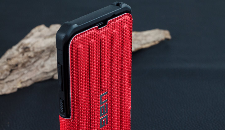 UAG Metropolis Rugged Samsung Galaxy S8 Plus Wallet Case - Magma Red