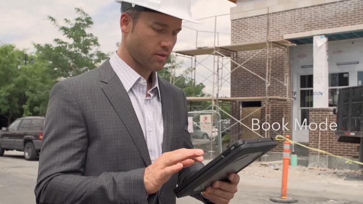 Zagg Rugged Book Magnetic iPad Pro 9.7 Keyboard Case