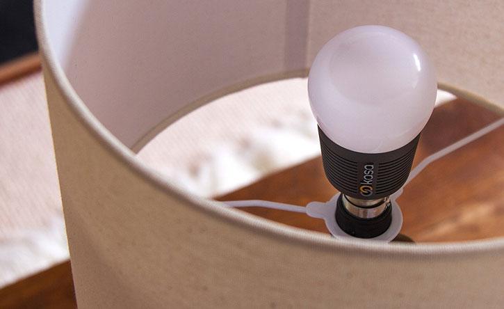 Veho Kasa Smart LED Bluetooth App-Controlled B22 Light Bulb