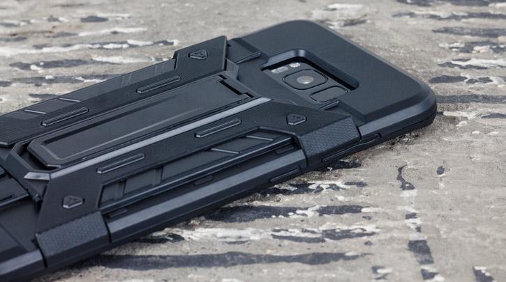 Olixar X-Trex Samsung Galaxy S8 Rugged Card Case - Black