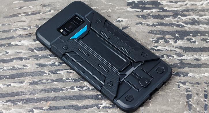 Funda Samsung Galaxy S8 Plus Olixar X-Trex - Negro