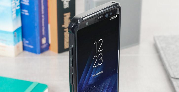 Olixar ExoShield Tough Snap-on Samsung Galaxy S8 Plus Case - Black