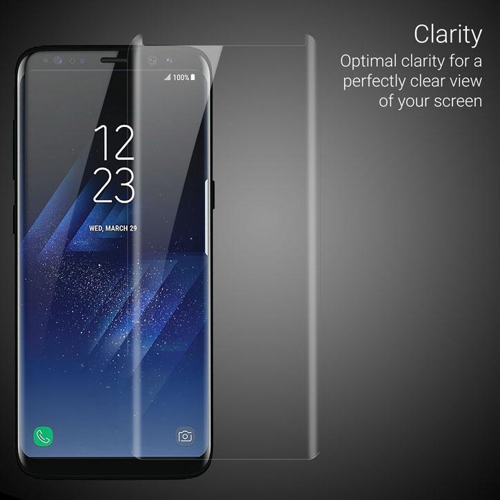 one logged olixar samsung galaxy s8 case friendly glass screen protector had turn the