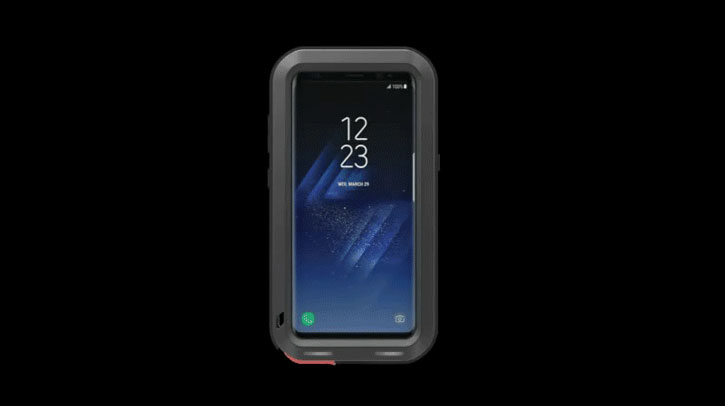 Funda Samsung Galaxy S8 Plus Love Mei Powerful - Negra