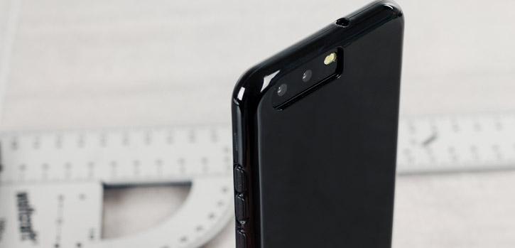 Olixar FlexiShield Huawei P10 Plus Gel Case - Solid Black