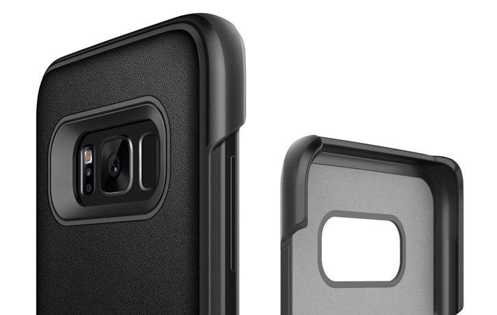 Caseology Samsung Galaxy S8 Fairmont Series - Carbon Fibre Black