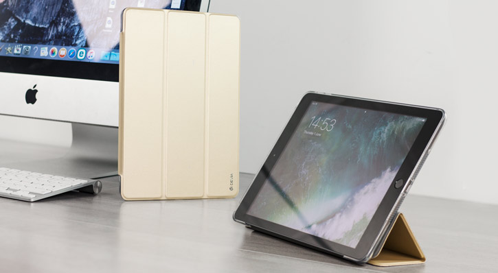 iPad 9.7 Smart Stand Case - Gold