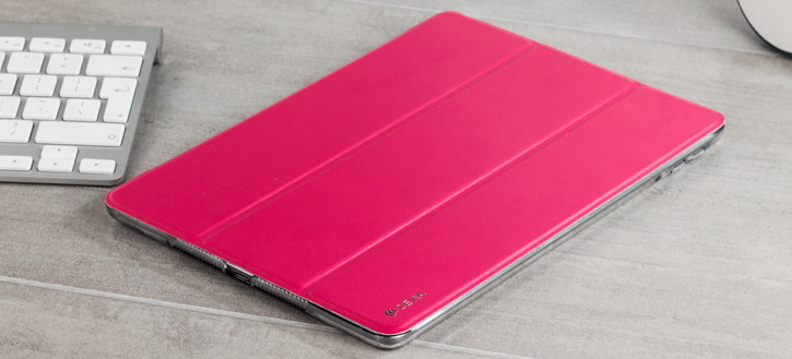 Apple iPad 2017 Smart Stand Case - Rose Red