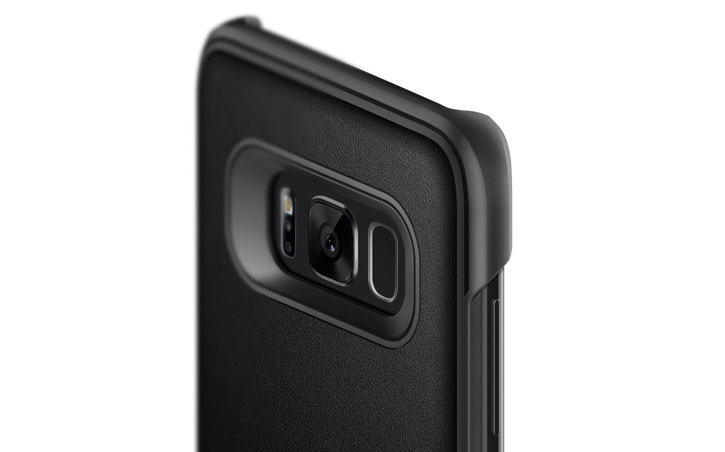 Caseology Samsung Galaxy S8 Plus Fairmont Series - Carbon Fibre Black