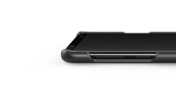 Caseology Samsung Galaxy S8 Plus Fairmont Series - Carbon Fibre Black