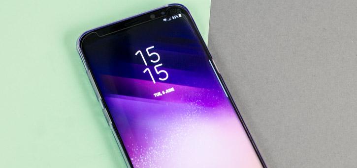 ITSKINS Zero Gel Samsung Galaxy S8 Plus Gel Case - Light Purple