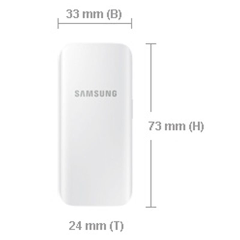 Official Samsung 2,100mAh Rechargeable Compact Battery Pack - Black