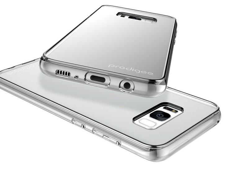 Prodigee Scene Samsung Galaxy S8 Case - Clear
