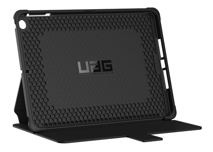 UAG Metropolis Rugged iPad 2017 Wallet Case - Black